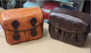 China vintage leather camera bag Camera Bag THAD001 on sale
