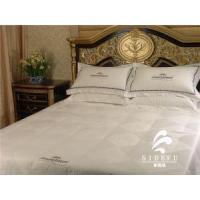 Hotel Collection Bed Linen Textile Fabric White Duvet Cover Sets Cotton Cheap Comforter Bedding Sets