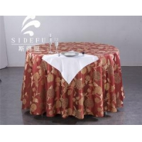 Table Linen Hotel Jacquard Round Table Cloth