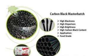 China Carbon Black Masterbatch with High Dispersion, Good Blackening Excellent Covering on sale
