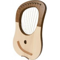 Strings Mid-East Lyre Harp 10-String - Walnut