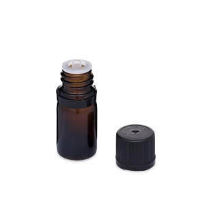 China Aromatherapy & Essential Oils Containers Glass Euro Dropper Bottles with Tamper-Evident Cap v8624B01 on sale