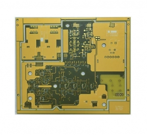 China FR4 PCB 1.6mm 2oz Multilayer Circuit Board with Yellow and Transparent SM on sale