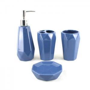 China Nautical ceramic bathroom accessories set on sale