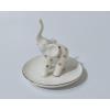 China Ceramic elephant jewelry dish for sale