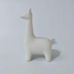 Leisure Bags Ceramic white giraffe statues home
