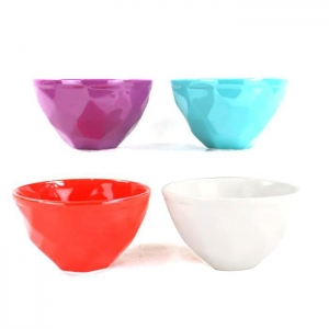 China Leisure Bags Multi colored large ceramic bowl on sale