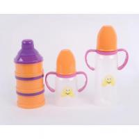 China Plastic Baby Feeding Bottle set Powder Container on sale