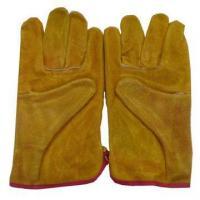 China Calf Skin Working Gloves on sale