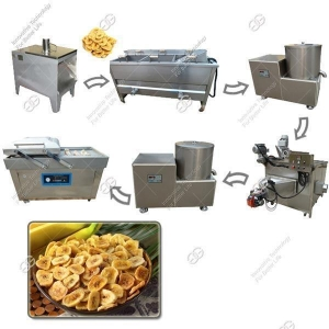 China Automatic Fried Banana Chips Production Line|Plantain Chips Processing Plant on sale