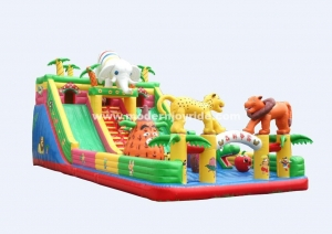 China New design inflatable fun land for sale on sale