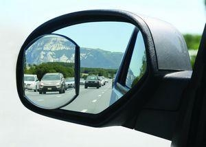 China BLIND SPOT MIRROR Item No. MZ5024 4 x 5 HotSpots Oblong Stick-On Convex Mirror on sale