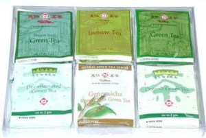 China Green Tea Bag Variety Pack on sale
