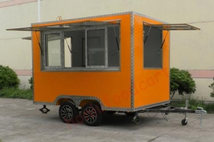 China Top selling mobile food cart design fast food van for sale on sale