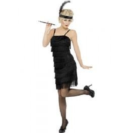 China Beards And Moustaches 1920's Fringed Flapper Dress on sale