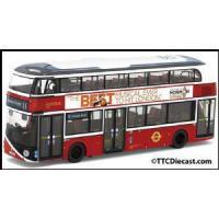 Buses CORGI OM46616B - NBFL Borismaster - Go Ahead London - Rte 11 Fulham Broadway LAST FEW