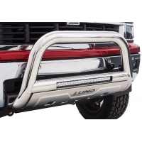 China Bull Bars & Grille Guards Lund Bull Bar with LED Light Bar on sale