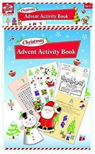 China Christmas Advent Calendar Activity Book Childrens Puzzle Colouring & Stickers by Anker International on sale