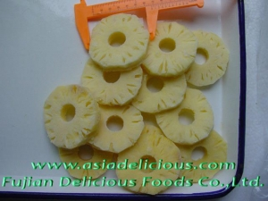 China IQF Fruits IQF Pineapples Slices on sale