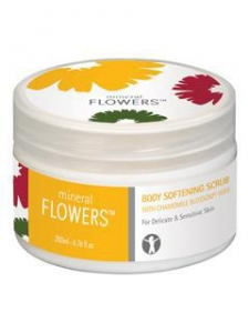 China Mineral Flowers Item No: 134049 Body Softening Scrub for Sensitive and Very Dry Skin on sale