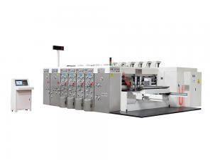China HD一Computerized Flexo Printing Slotting Die Cutting Machine (Printed,self一locking) on sale