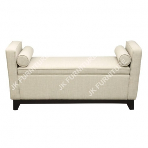 China Storage Ottoman Bedroom Bench with Arm on sale