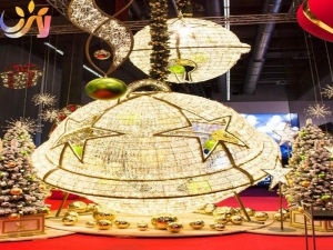 China Building Decor Shopping Mall Christmas Decorations on sale