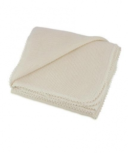 China organic cotton knitted baby blanket on sale