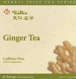 China Flavored Tea Ginger Tea (Caffeine Free) 50 Bags on sale