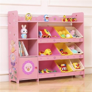 China kids toy storage rack baby Easy Assemble Childre on sale