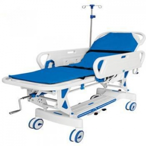 China JQ-857 operating theatre Manual Transportation flat cart on sale