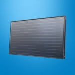 Anodic Oxidation Flat Plate Solar Collector