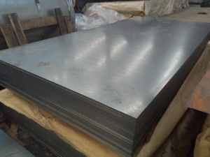 China Grade A astm gi steel plates prices on sale