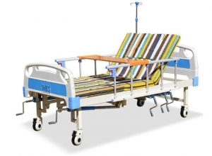 China Hand Rocking Hospital Patient Bed on sale