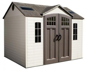 China Lifetime 10 x 8 ft Outdoor Storage Shed on sale