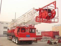 China Truck-mounted Drilling Rig on sale