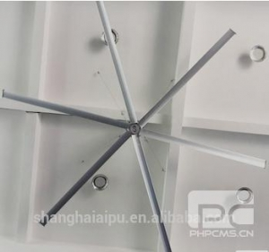 China Extra Large-sized Ceiling Fans 26ft 8m big size ass industrial ceiling fans on sale