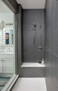 China dark gray bathroom ideas on sale