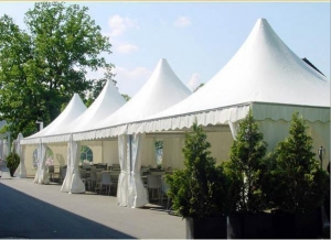 China 5x5m pagoda tent for sale in Shenzhen on sale
