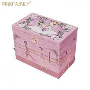 China Beautiful ballerina musical jewelry box custom music box for girls on sale