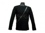 Michael Jackson Bad Tour Shirt Long Sleeve in Black