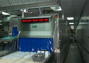 China Eco Double Deck Ultrasonic Inflight Dishwasher on sale