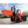 China 3.5 ton 4 wheel drive rough terrain forklift on sale