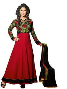 China Anarkali Suits vibes pure georgette anarkali designer dress material v209-6005 on sale