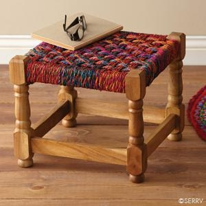China Furniture Bright Charpoy Stool 46383 on sale