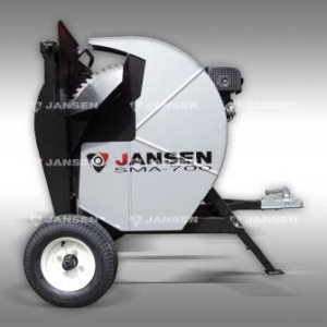 China Log Saws , Saw Bench Log Saw 700mm with trailer connection Jansen Electric Start on sale