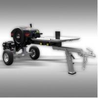 Log splitter Jansen Rotary FS- 35 ton top speed with Briggs & Stratton petrol engine