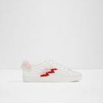 Aldo Olelanna Lace Up Sneakers, White