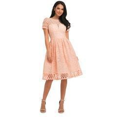 China Chi Chi London Monica Dress, Pink on sale