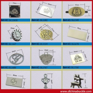 China Define Metal Scutcheon For Brand on sale